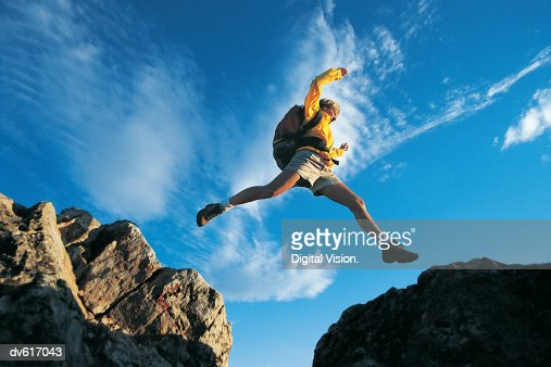 Man Trailrunning