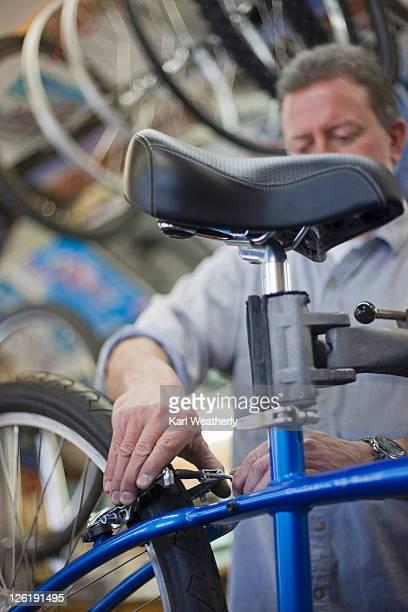 Man tuning mt bike