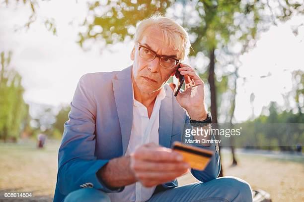 Man victim of credit card fraud