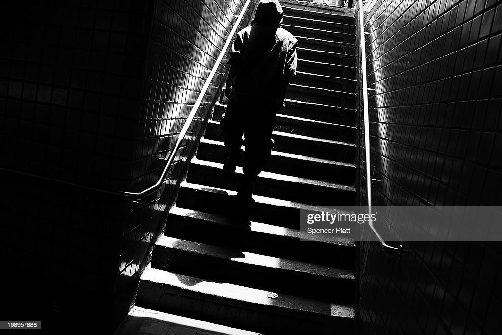 A man walks down the stairs at the Kingston-Throop Ave. station where MTA worker Harry Kaufman was killed on November 26, 1995, after being attacked with gasoline and fire in a botched robbery at the token booth in Bedford-Stuyvesant on May 16, 2013 in Brooklyn borough of New York City. While two teenagers were charged in the case, the defense had accused New York Police Detective Louis Scarcella of beating one of the suspects. Following the recent clearing of David Ranta of murder after serving a 23-year prison sentence, the Brooklyn, N.Y. District Attorney is reviewing 50 murder cases investigated by celebrated Detective Louis Scarcella. The review of cases will give special scrutiny to those cases which appear weakest. Scarcella, 61 and now retired, denies ever having used unethical tactics to secure a conviction.