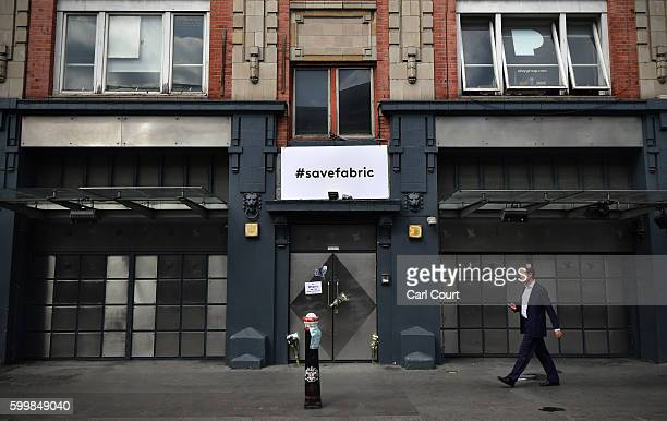A man walks past Fabric nightclub following the announcement of its closure on September 7 2016 in London England Fabric which opened in 1999 and was...