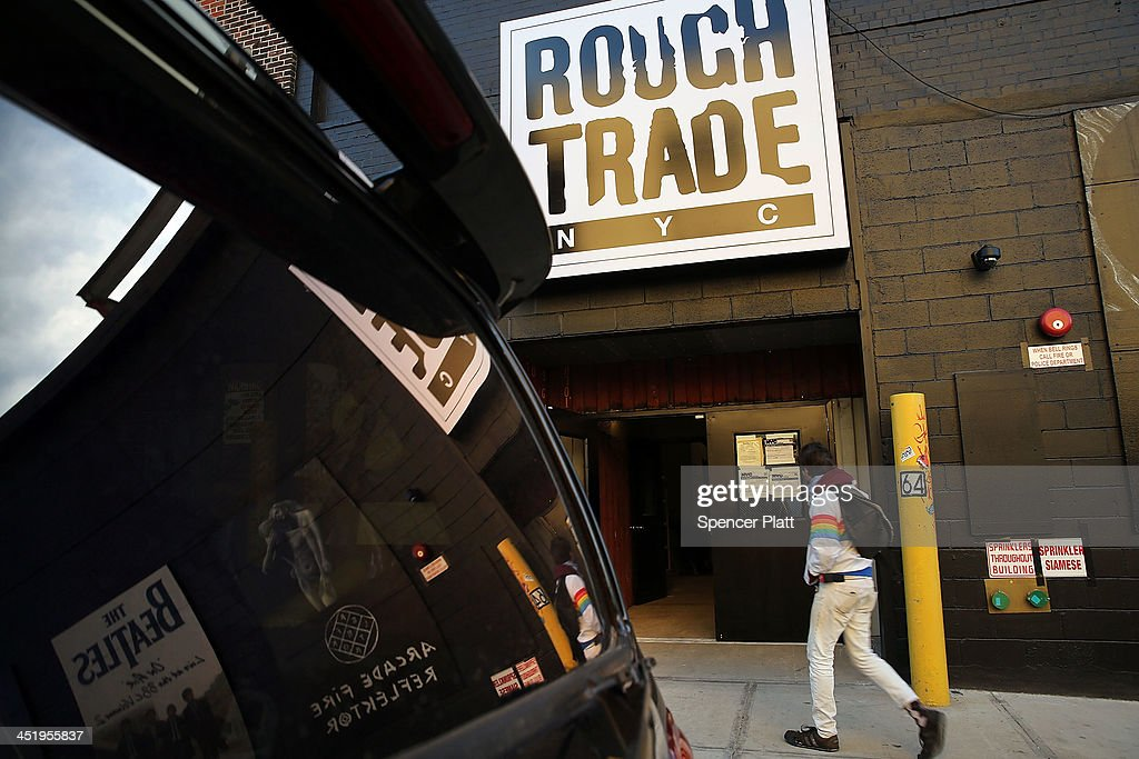Uk S Rough Trade Records Opens Store In Brooklyn Getty