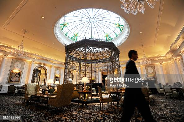 Thames Foyer Savoy Hotel : Uk london the newly refurbished savoy hotel pictures