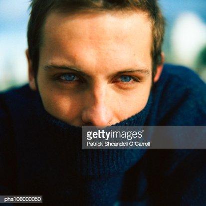 Man wearing turtleneck
