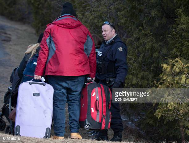 A man who claimed to be from Turkey is questioned by the RCMP after crossing the US/Canada border February 27 in Champlain New York There continues...