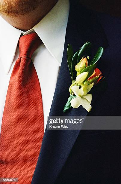 Man with a boutonniere