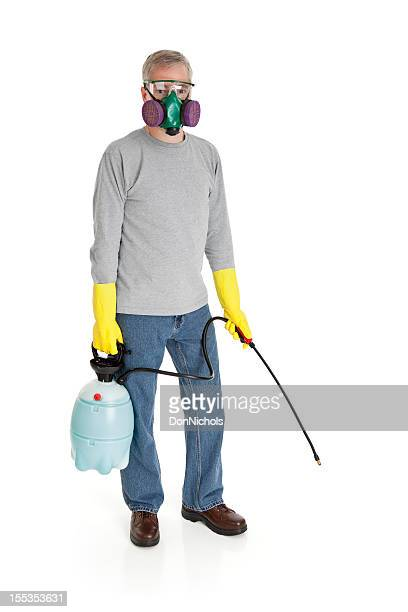 Man With a Chemical Sprayer