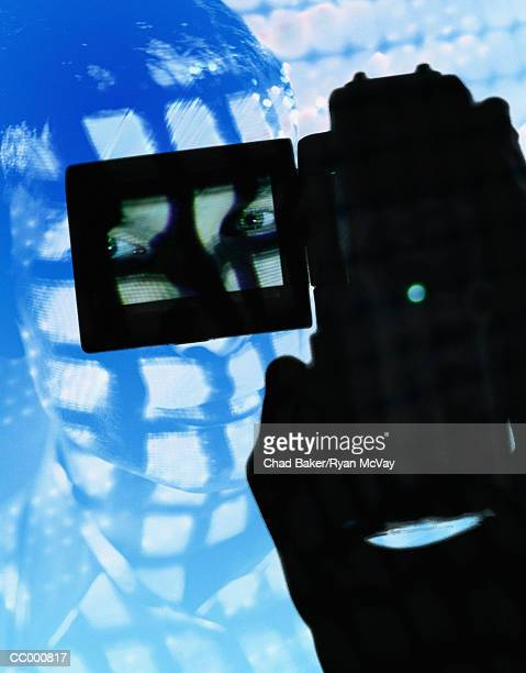 Man with a Digital Video Camera