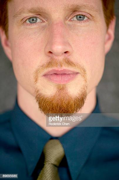 Man with a goatee