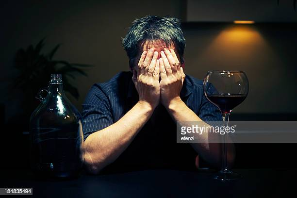 Man With Alcohol Problems