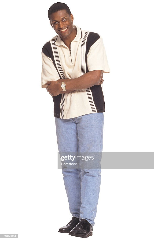 Man with arms crossed : Stock Photo