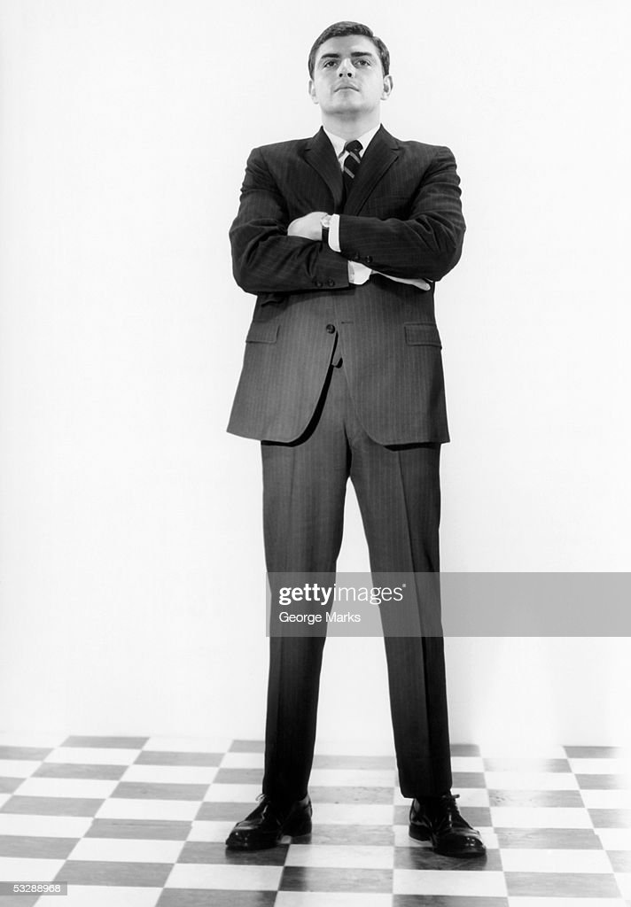 Man with arms folded : Stock Photo