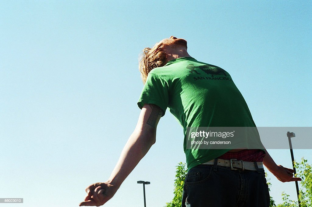 Man with arms out : Stock Photo