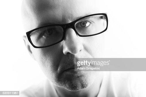 man with eyeglasses : Stock Photo