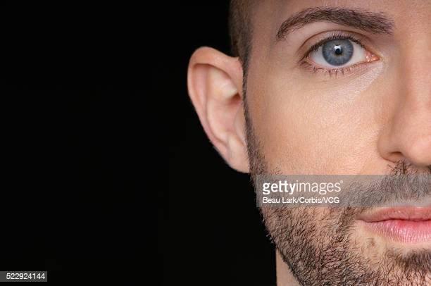 Man with facial hair