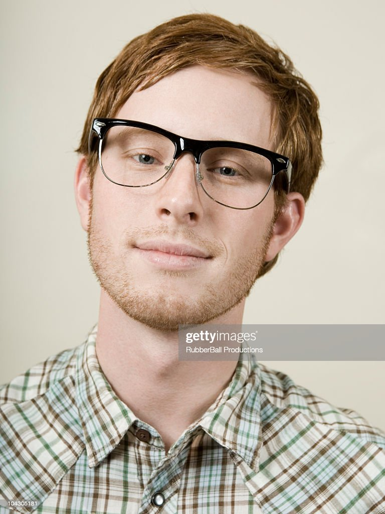 man with glasses : Stock Photo