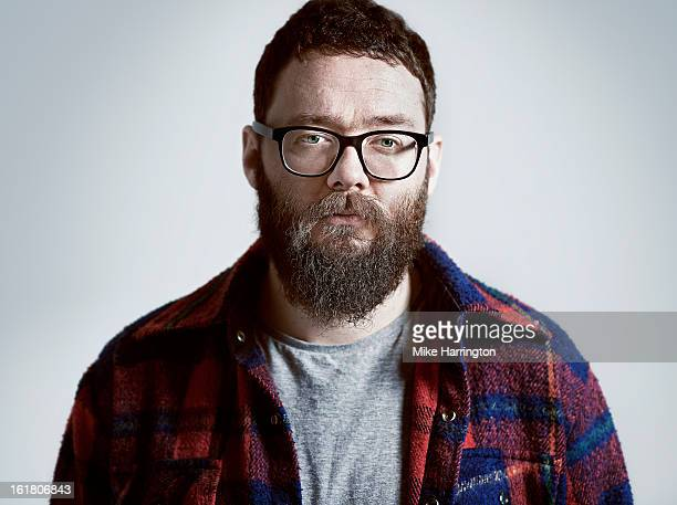 Man with gruff beard and glasses.