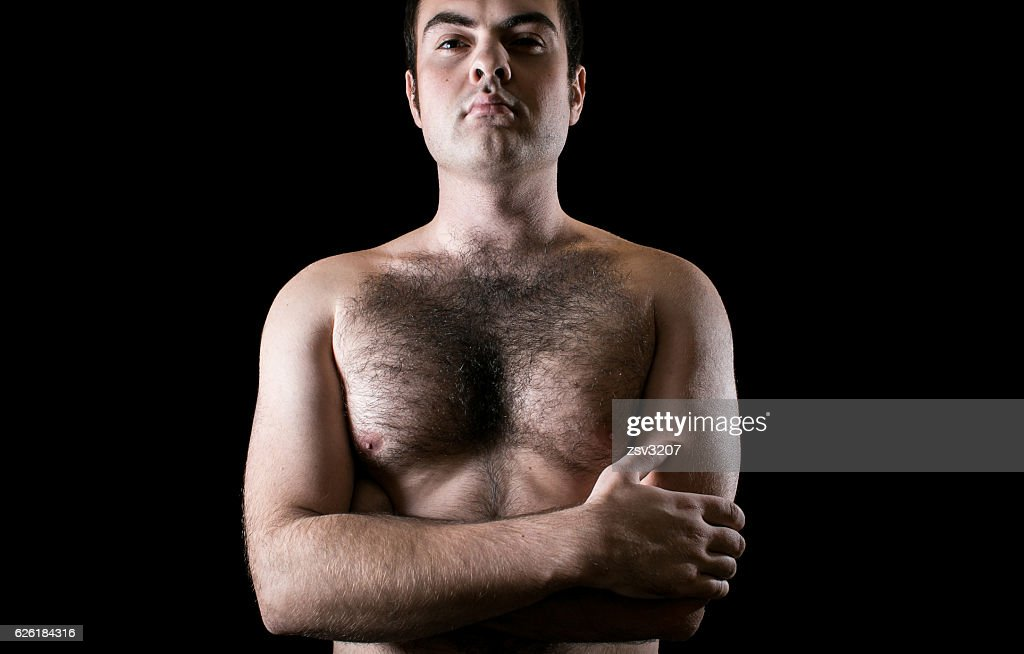 Can man hairy chest male models useful