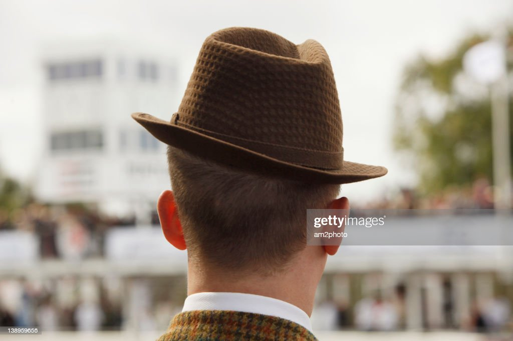 Man with hat : Stock Photo