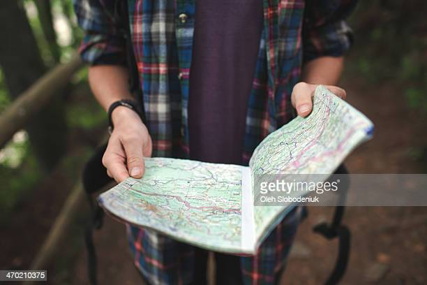 Man with map