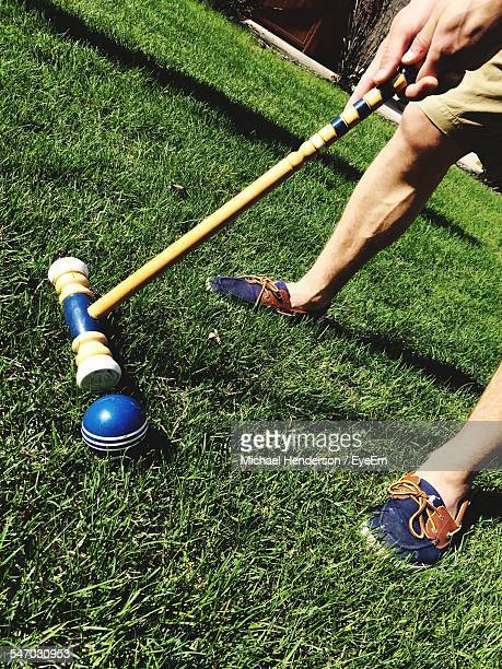 Man With Polo Mallet