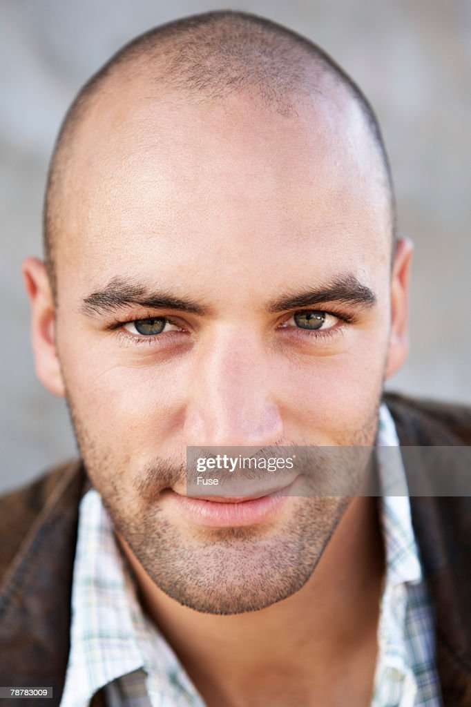 Man with Shaved Head