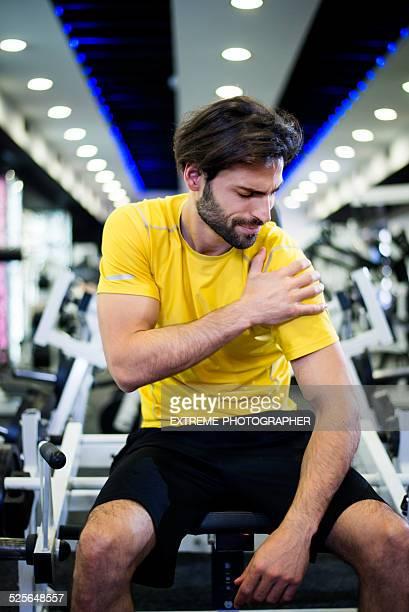 男性、スポーツ傷害