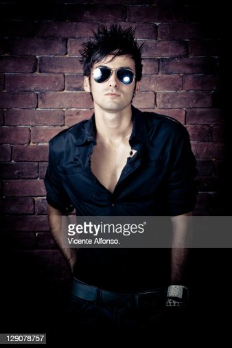 Man with sunglasses : Stock Photo