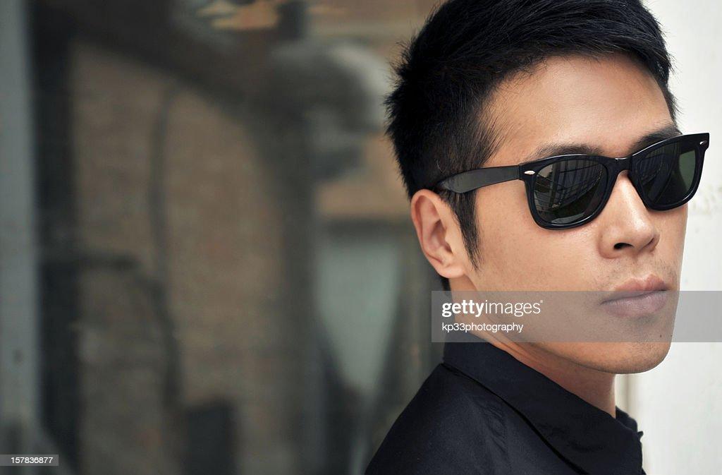 Man with sunglasses : Stock Photo
