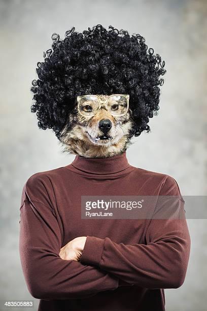 Wolf 男性のポートレート
