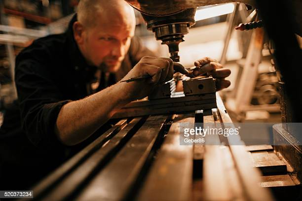 Man working in production