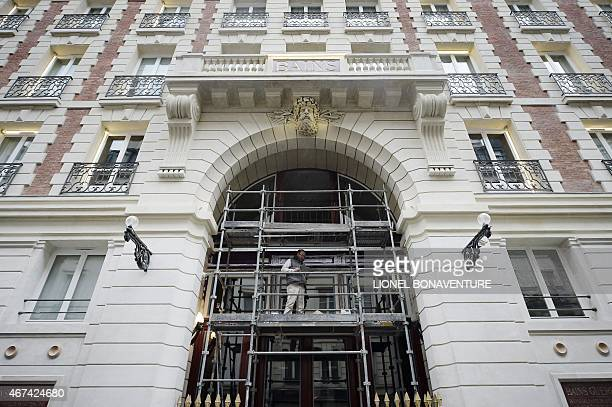 Les bains paris stock photos and pictures getty images for Les bains douches paris hotel