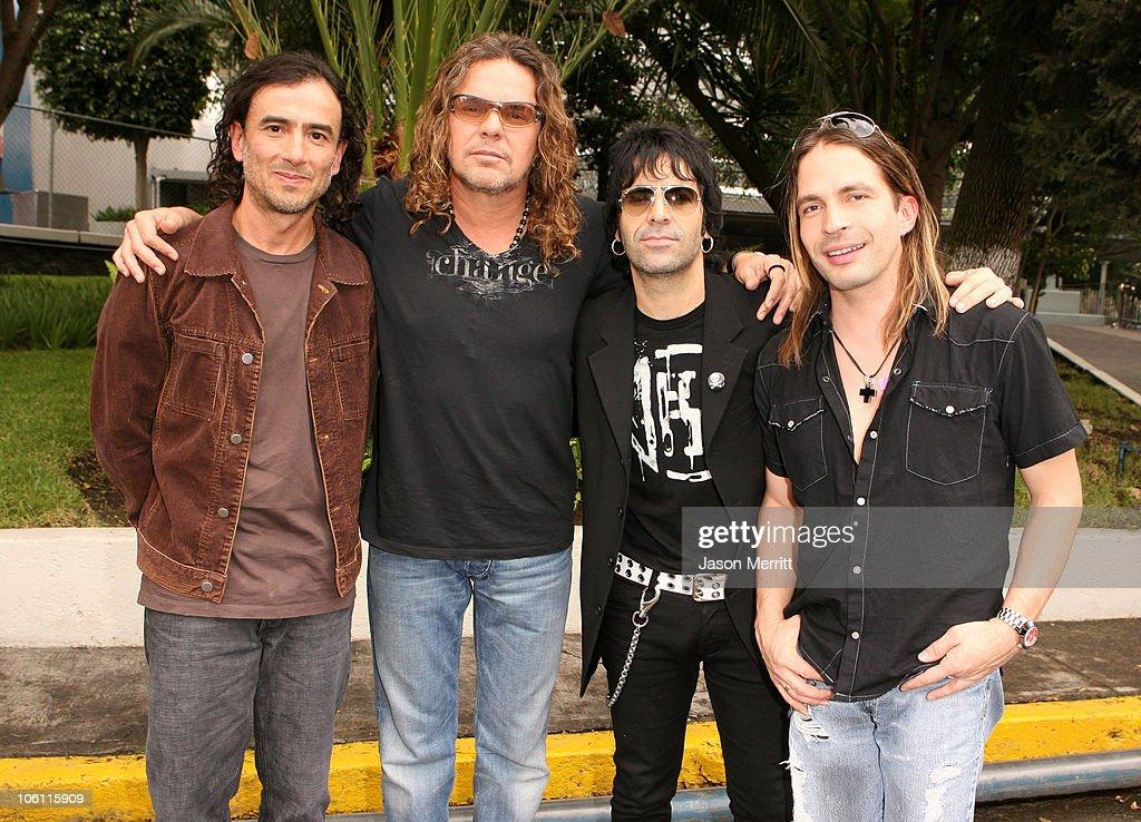 Mana during MTV Video Music Awards Latin America 2006 - Rehearsals - Day 1 at Palacio de los Deportes in Mexico City, Mexico.