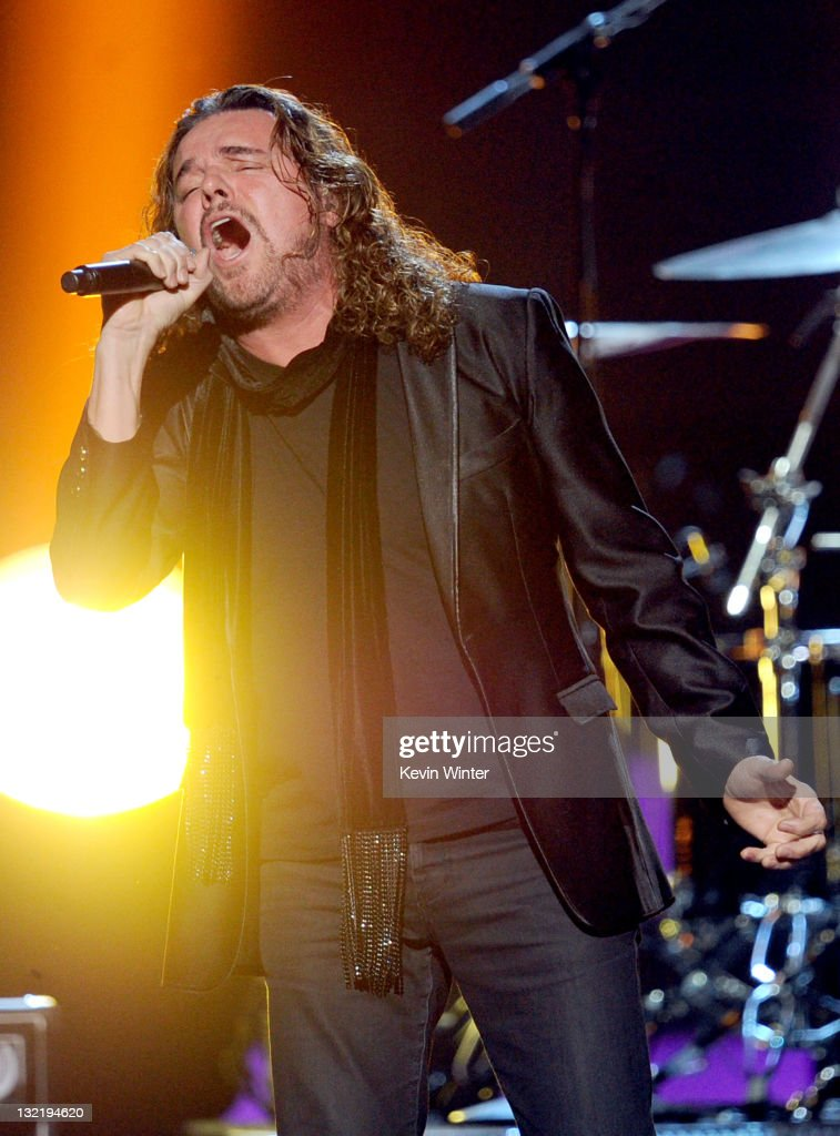 Mana performs onstage during the 12th annual Latin GRAMMY Awards at the Mandalay Bay Events Center on November 10, 2011 in Las Vegas, Nevada.