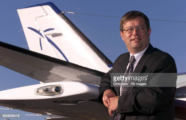 Management consultant Chris Clifton's Cessna Caravan plane takes off at Exeter airport Mr Clifton was so disgruntled with the train services between...