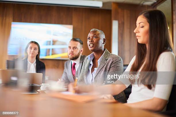 management in the boardroom
