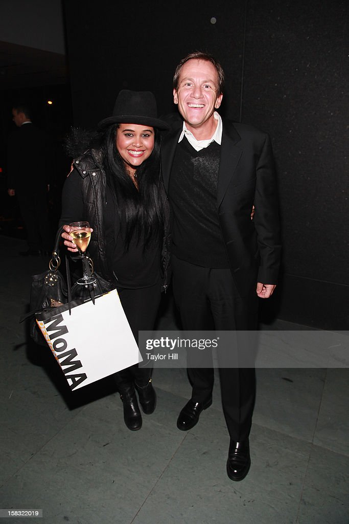 Management's Anel Pla and author James Hester attend The Museum of Modern Art's Jazz Interlude Gala After Party at MOMA on December 12, 2012 in New York City.