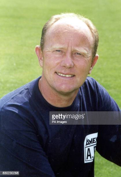 Manager Alan Buckley of First Division Grimsby Town FC at Blundell Park Stadium