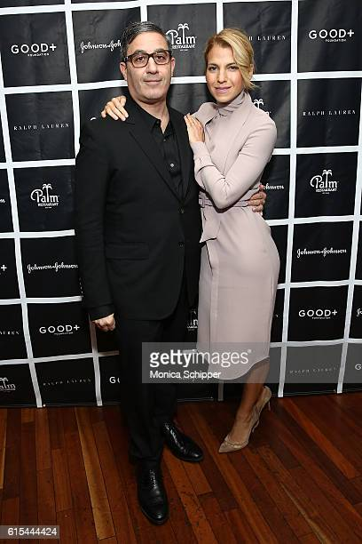 Manager and producer at GOOD Fatherhood Leadership Council Jason Weinberg and founder at GOOD Foundation Jessica Seinfeld attends the New York...