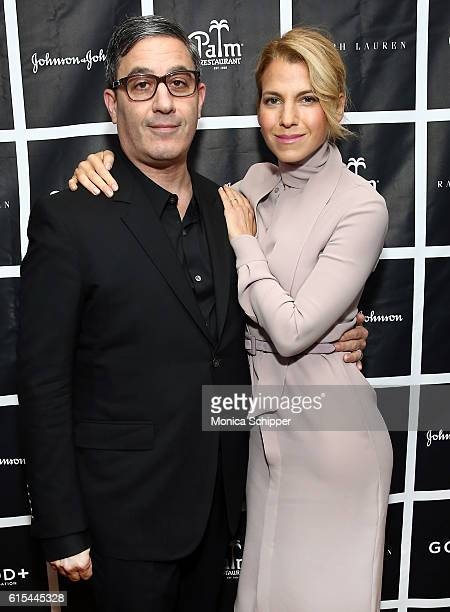 Manager and producer at GOOD Fatherhood Leadership Council Jason Weinberg and founder at GOOD Foundation Jessica Seinfeld attend the New York...