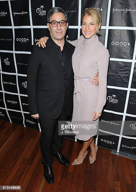 Manager and producer of the GOOD Fatherhood Leadership Council Jason Weinberg and founder of the GOOD Foundation Jessica Seinfeld attend the 2016...