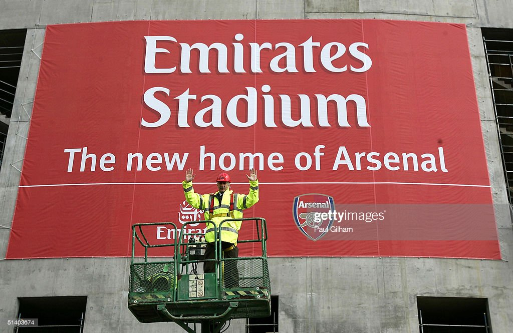 New Arsenal Emirates Stadium : News Photo