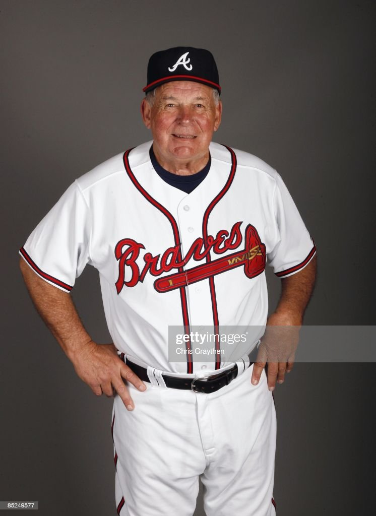 Manager Bobby Cox of the Atlanta Braves poses for a photo during Spring Training Photo Day on February 19 2009 at Champions Stadium at Walt Disney...