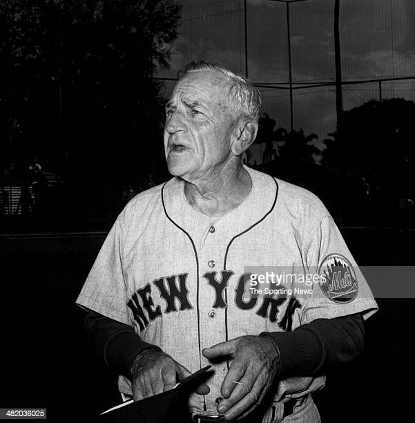 Manager Casey Stengel of the New York Mets looks on circa 1960s