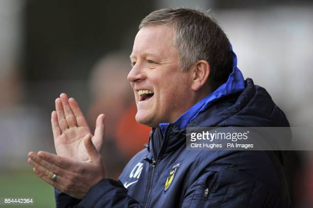 Manager Chris Wilder Oxford Town
