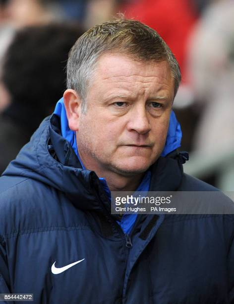 Manager Chris Wilder Oxford United