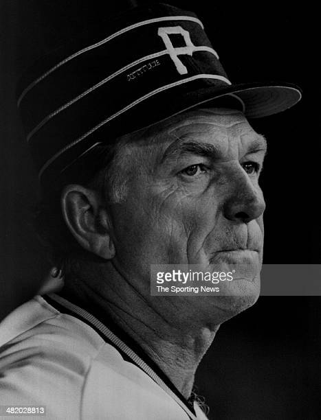 Manager Chuck Tanner of the Pittsburgh Pirates looks on circa 1970s