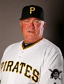 Manager Clint Hurdle of the Pittsburgh Pirates poses for a portrait on February 25 2016 at Pirate City in Bradenton Florida