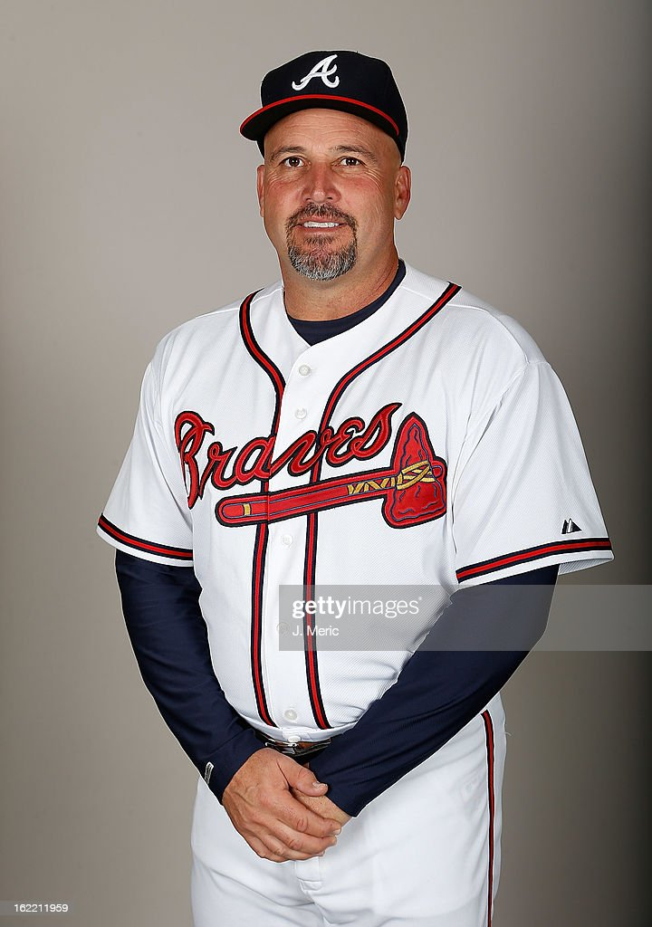 Manager Fredi Gonzalez #33 of the Atlanta Braves poses for a photo during photo day at Champion Stadium at the ESPN Wide World of Sports Complex at Walt Disney World on February 20, 2013 in Lake Buena Vista, Florida.