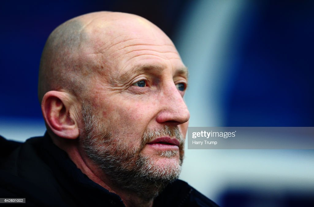 QPR Manager Ian Holloway looks on during the Sky Bet Championship match between Birmingham City and Queens Park Rangers at St Andrews Stadium on February 18, 2017 in Birmingham, England.